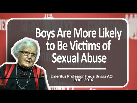 Boys Are More Likely to Be Victims of Sexual Abuse