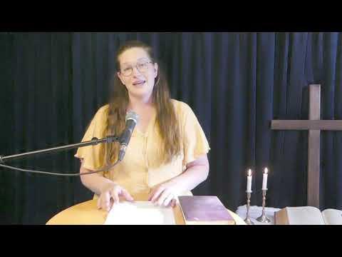 Singel kvinna i skerike- gideonsberg