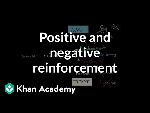 Operant Conditioning Positive And Negative Reinforcement And