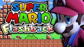 COULD THIS BE THE MOST BEAUTIFUL MARIO FAN GAME EVER?! - SUPER MARIO FLASHBACK