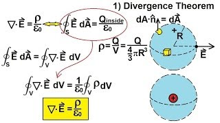 Physics - E&M: Maxwell's Equations (9 of 30) Differential Form of Gauss' Law: 1