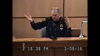 Brutal Cross Examination of a Cop in Hardin County -- The Prosecutor was Unable to Stop it