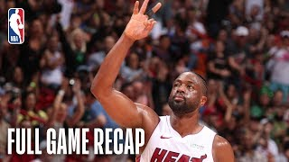 HORNETS vs HEAT | Dwyane Wade Goes For 17 Points & 8 Rebounds Against Charlotte | March 17, 2019