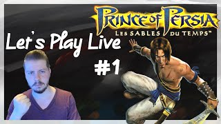 🔴 Prince of Persia : Les Sables du Temps I Let's Play Live #1