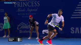 Querrey beats Nadal in 2017 ATP Acapulco final