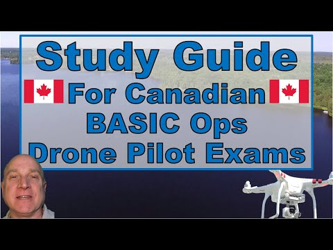 Study Guide for Canadian Drone Pilot Basic Operations Exam Up to ...