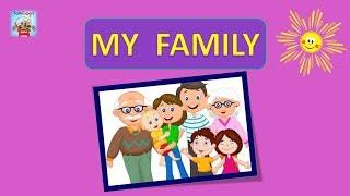ТОПИКИ ПО АНГЛИЙСКОМУ ЯЗЫКУ. ПРАКТИКА ЧТЕНИЯ И ПРОИЗНОШЕНИЯ.  MY FAMILY. ЗА 1 УРОК.