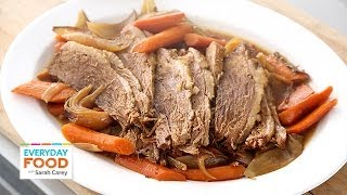 Slow-Cooker Brisket for Passover – Everyday Food with Sarah Carey