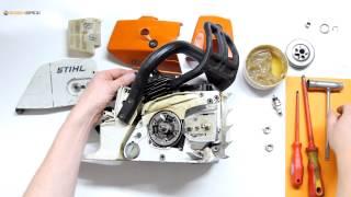 Kupplung und Kettenrad austauschen bei einer Stihl Motorsäge