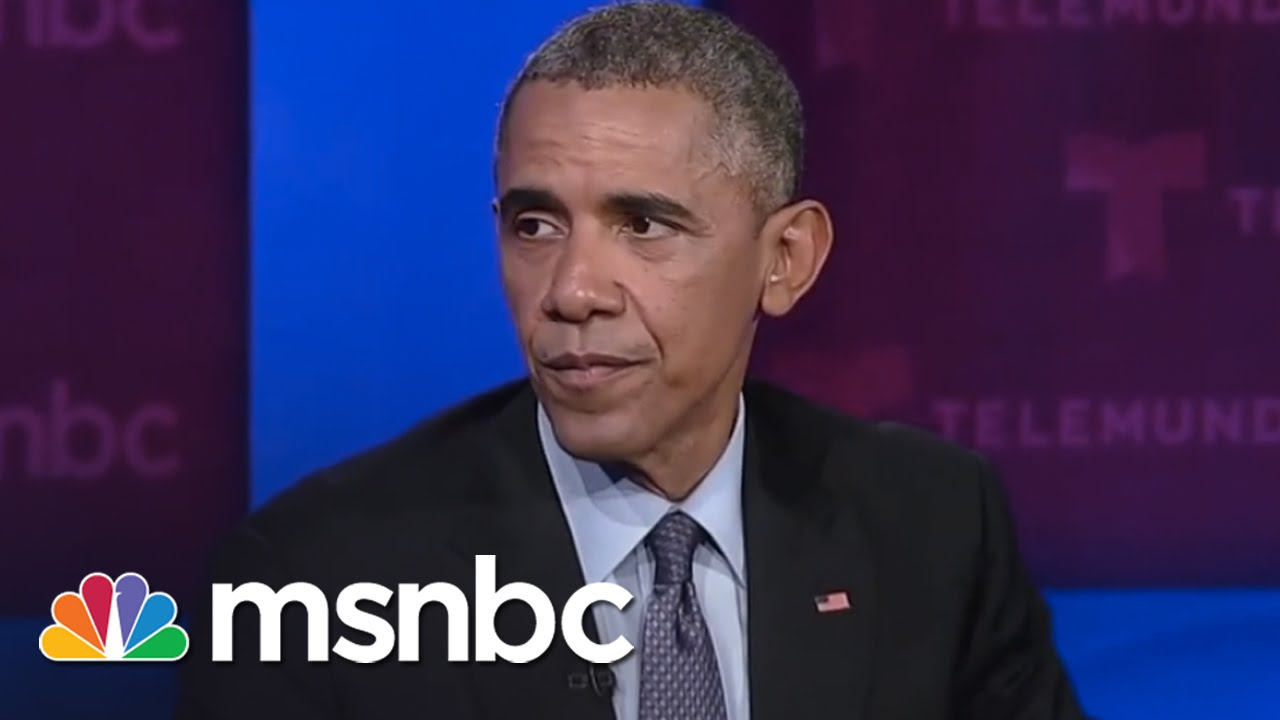 Obama To Congress: Pass Immigration Reform Law | msnbc thumbnail