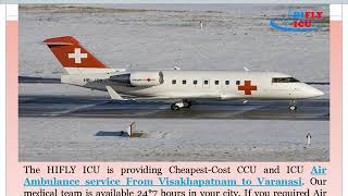 Low-Cost Air Ambulance Service from Visakhapatnam to Varanasi