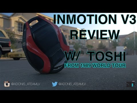 INMOTION V3 ELECTRONIC UNICYCLE REVIEW!!
