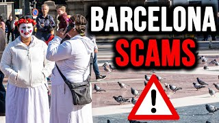 Barcelona SCAMS: Tips For Avoiding Crime And Pickpockets In Spain.