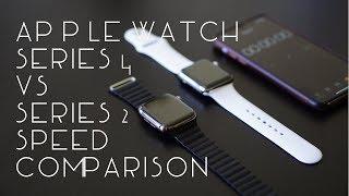 Apple Watch Series 4 VS Series 2 | Speed Comparison