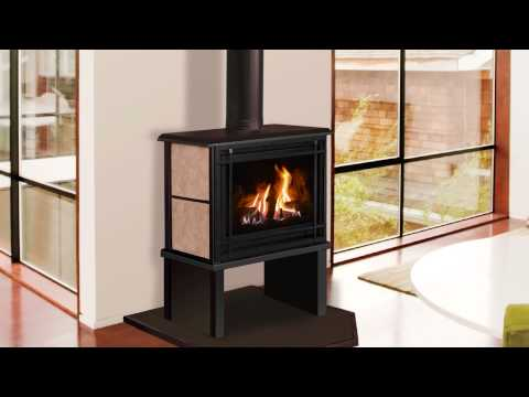 Birchwood 20 Free Standing Gas Fireplaces Direct Vent Gas Fireplace