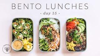 3 Healthy Vietnamese BENTO BOX LUNCHES 🐝 DAY 15   HONEYSUCKLE