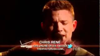 Chris Rene - Where Do We Go From Here . . Full Extended Version . . The X Factor Live Show 7.mp3.wmv