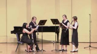 SHS Honors Recital Ensemble R Hudson L  Mars L Robertson B Tawater