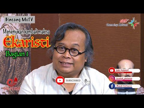 """Bincang MoTv bersama Rm. Dr. I. L. Madya Utama SJ """"Ekaristi"""" Bag.1"""
