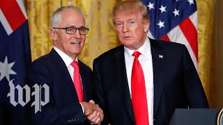 Turnbull really wants Trump to know the U.S. and Australia are