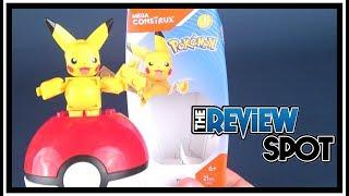 Collectible Spot | Mega Construx Pokemon Pikachu Build Set