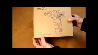 Unboxing and Testing Tacklife Drill/Driver PCD02B