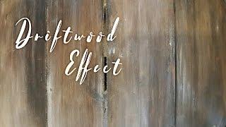 Drift Wood Effect - Annie Sloans Chalk Paint - Drivveds-effekt