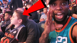 ROASTING WARRIORS FANS AT THE 2017 NBA ALL-STAR GAME IN FRONT OF PARENTS!!