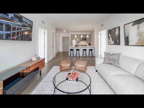 A West Loop -06 2-bedroom model at the new The Van Buren