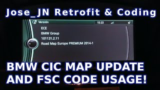 BMW CIC Map Upgrade