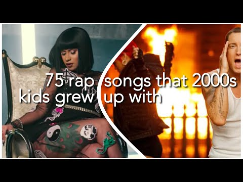 75 rap songs that 2000s kids grew up with