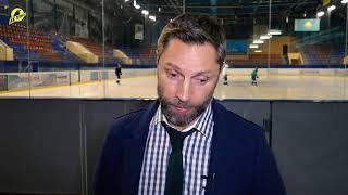 Интервью после матча «Темиртау» - «Бейбарыс»