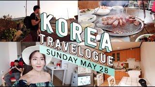 Jeju, Korea Vlog Day 8: Jeju Airbnb, Trying out Jeju Black Pork | thatxxRin