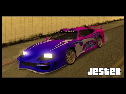Gta San Andreas ( Jester Location+Tuning )