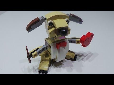 Vidéo LEGO Saisonnier 40201 : Chien cupidon de Saint-Valentin