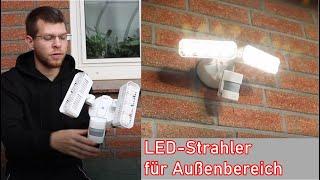 SANSI LED-Strahler mit Bewegungsmelder
