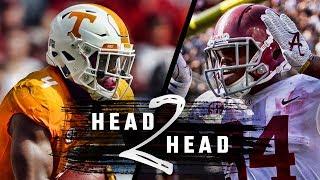 Head to Head: Alabama vs Tennessee