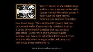 Cancer turn ons | How to seduce Cancer?