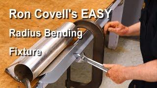 Making a Radius Bending Fixture for Sheetmetal