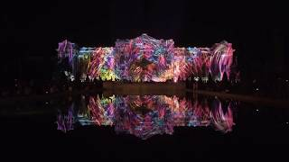 Rescape Light Art Experience / Another Nature, 3D Projection Mapping Artwork