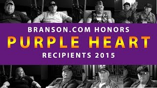 Branson Honors Purple Heart Recipients 2015 (Full Documentary)  Video