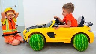 Vlad Change Wheels Nikita Toy Car