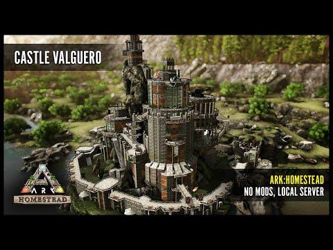 Castle Valguero, ARK: Homestead PvE build (showcase + mapsave