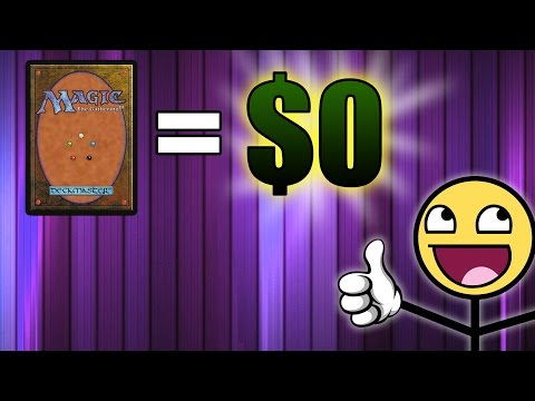 Playing Magic the Gathering 100% For Free