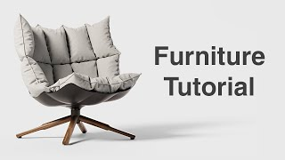 How To Make Furniture With Marvelous Designer - Beginner Tutorial