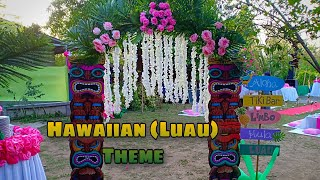 Hawaiian Theme | Luau Party | Tropical Party Ideas | Venue Styling