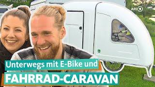 Mit E-Bike und Fahrrad-Wohnwagen zum Camping-Glück   WDR Reisen