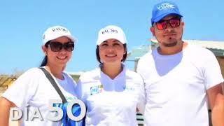 Michelle Valdez agradecida por los 60 días de campaña