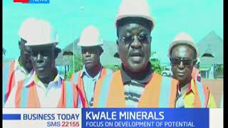 Why Kwale County is believed to be hosting a number of minerals