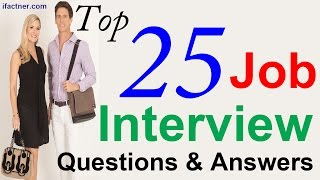 Top Interview Questions and Answers -  Job Interview Tips